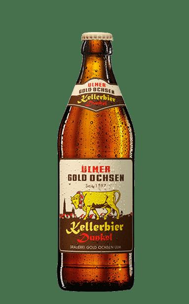 Gold Ochsen Kellerbier Dunkel Flasche
