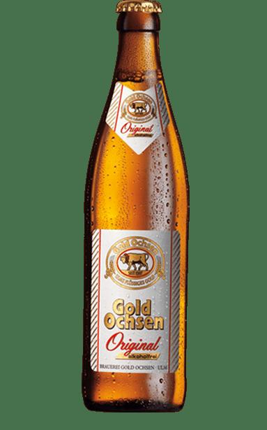 Gold Ochsen Original Alkoholfrei Flasche