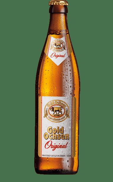 Gold Ochsen Original Flasche