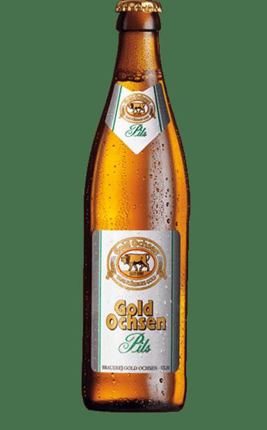 Gold Ochsen Pils Flasche