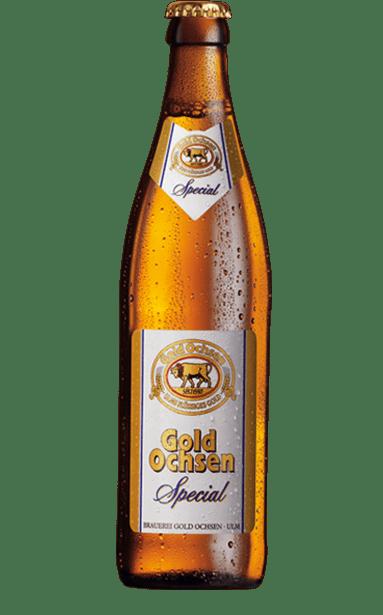 Gold Ochsen Special Flasche