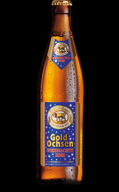 Gold Ochsen Weihnachtsbier Flasche