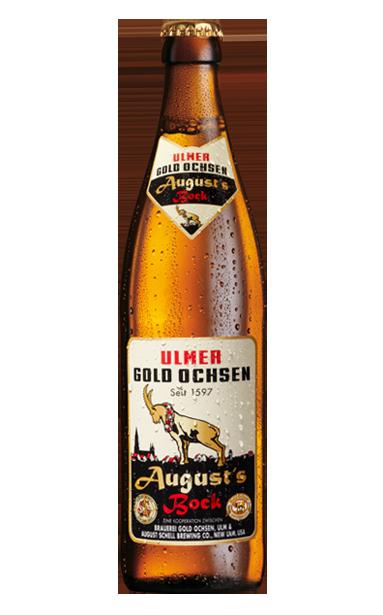 Gold Ochsen Augus's Bock Flasche