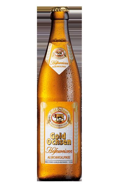 Gold Ochsen Hefeweizen Alkoholfrei Flasche