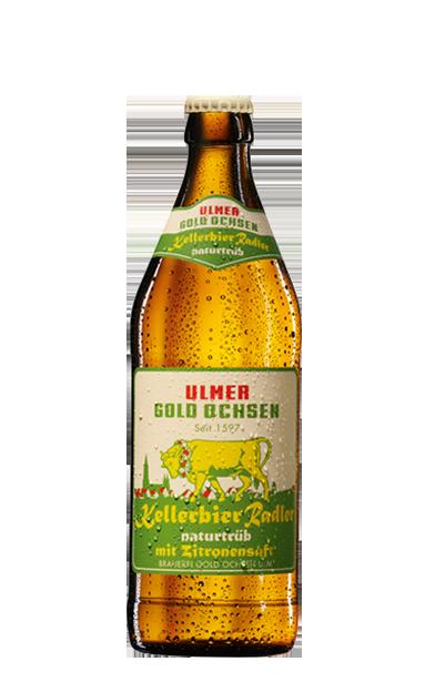 Gold Ochsen Kellerbier Radler Flasche