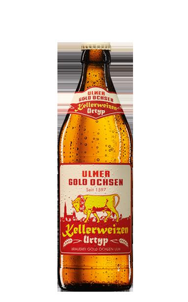 Gold Ochsen Kellerweizen Urtyp Flasche