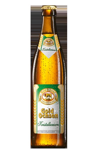 Gold Ochsen Kristallweizen Flasche