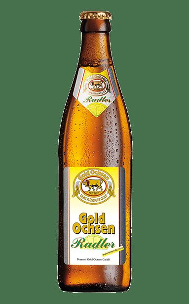 Gold Ochsen Radler Flasche