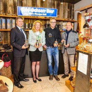 Pressebild Gold Ochsen Single Malt Whisky im Ochsen Shop