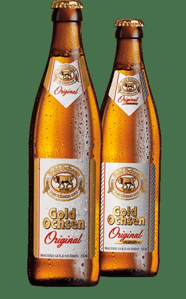 Gold Ochsen Original und Original Alkoholfrei