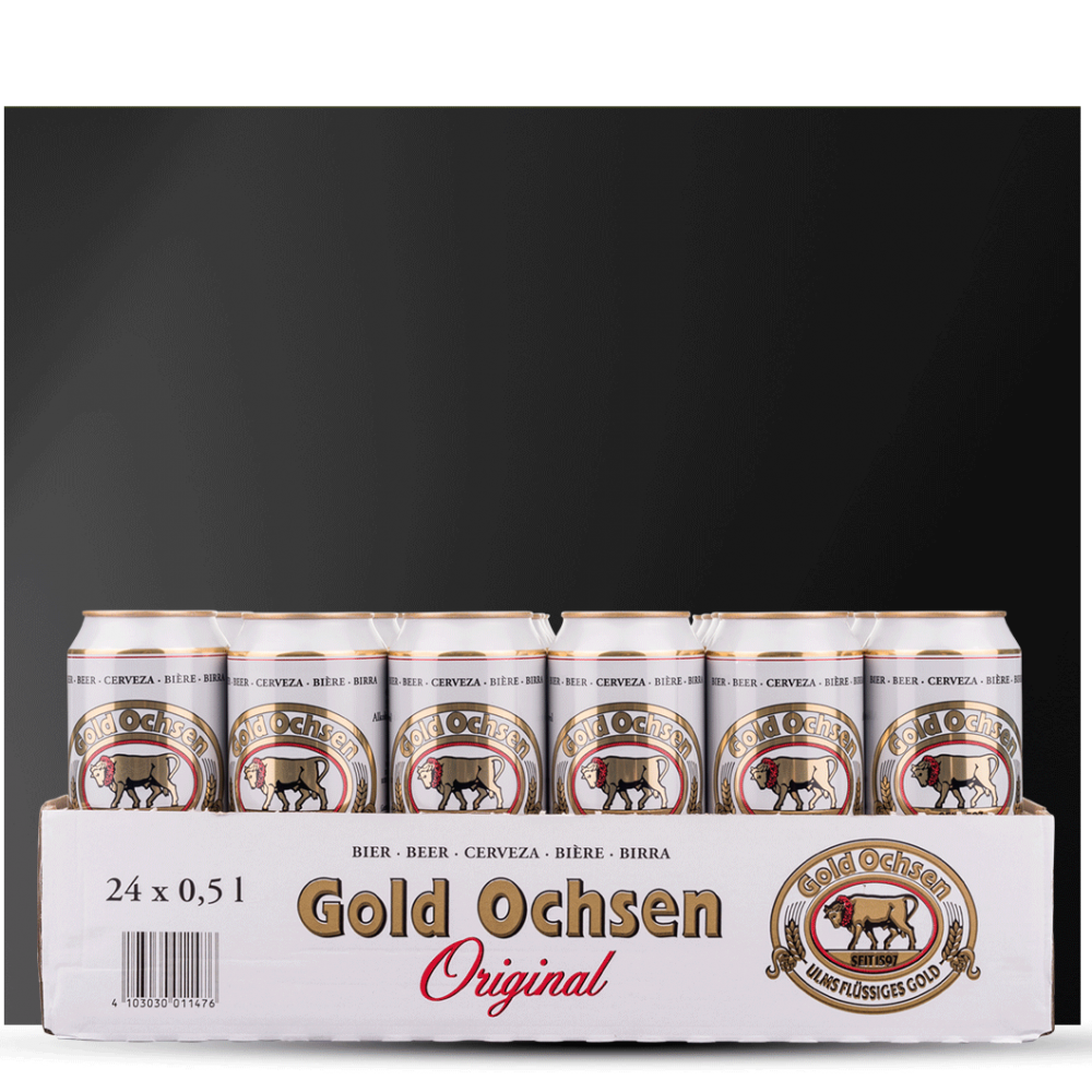 24er Pack Gold Ochsen Original in der Dose