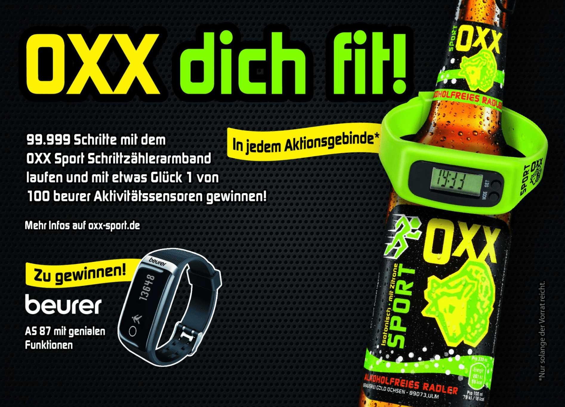 Gewinnspiel – OXX Sport macht mobil   Brauerei Gold Ochsen Ulm – Wir ...