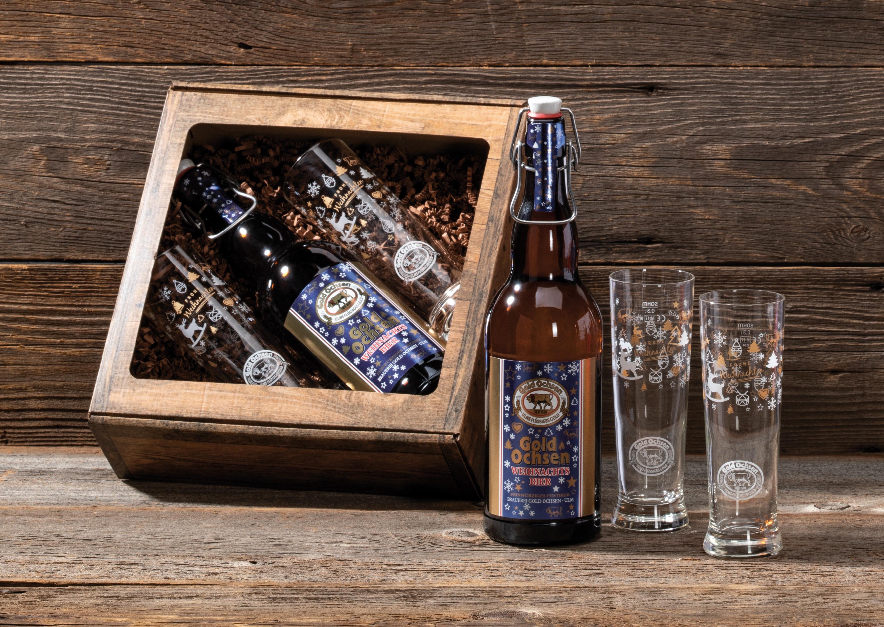 männerhandtasche | brauerei gold ochsen ulm – wir brauen das bier in ulm