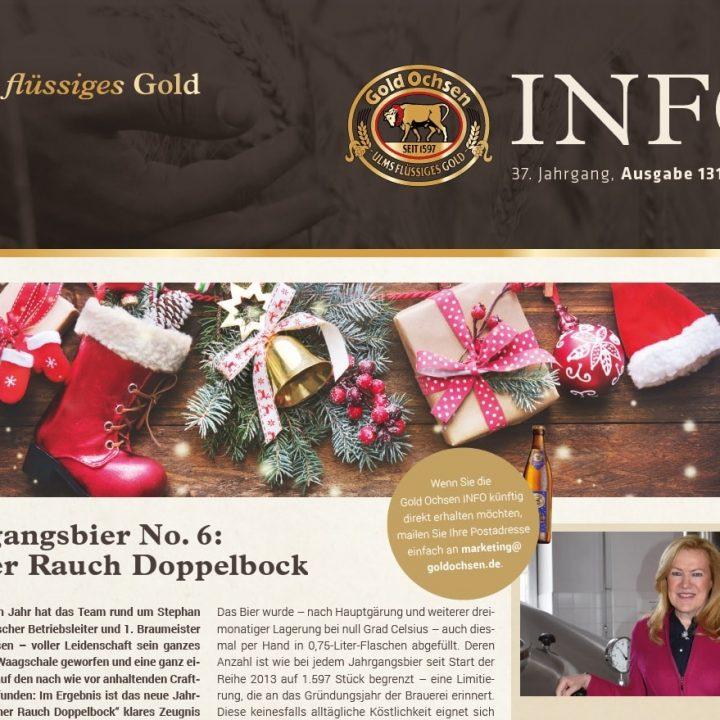 Kundenmagazins Info 131