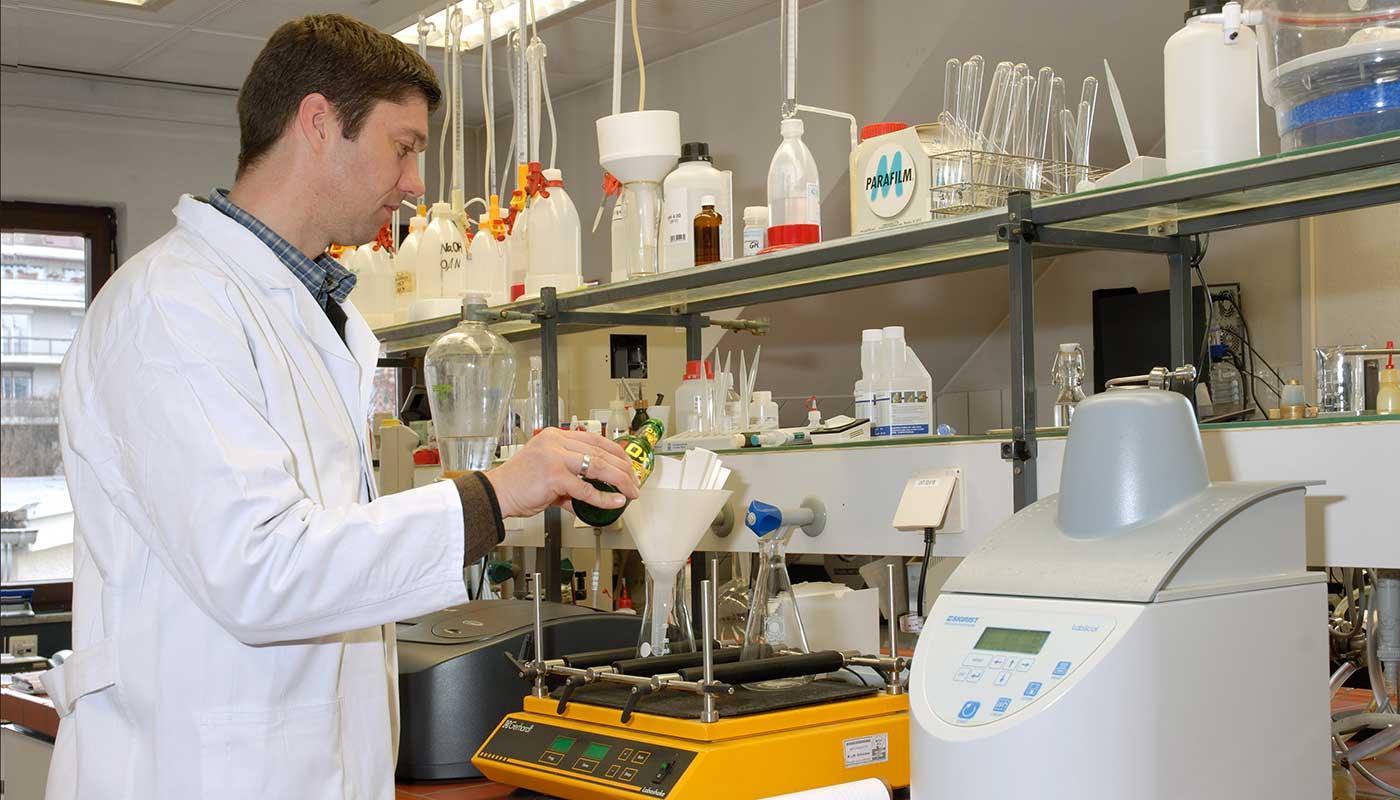 Labor und Qualitätssicherung bei Gold Ochsen
