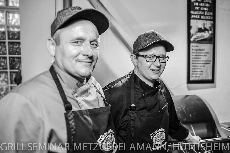 Werner und Benni Amann - Grillseminar