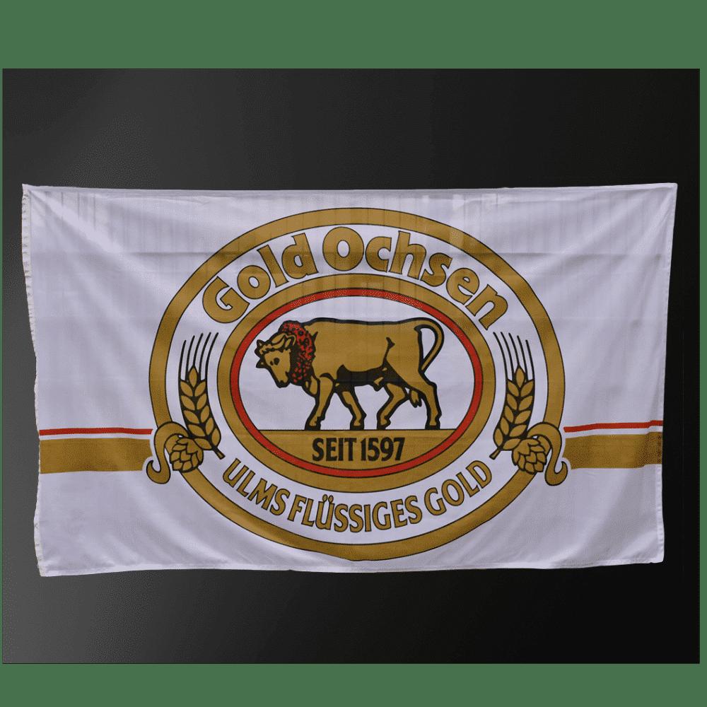 Gold-Ochsen-Hissfahne
