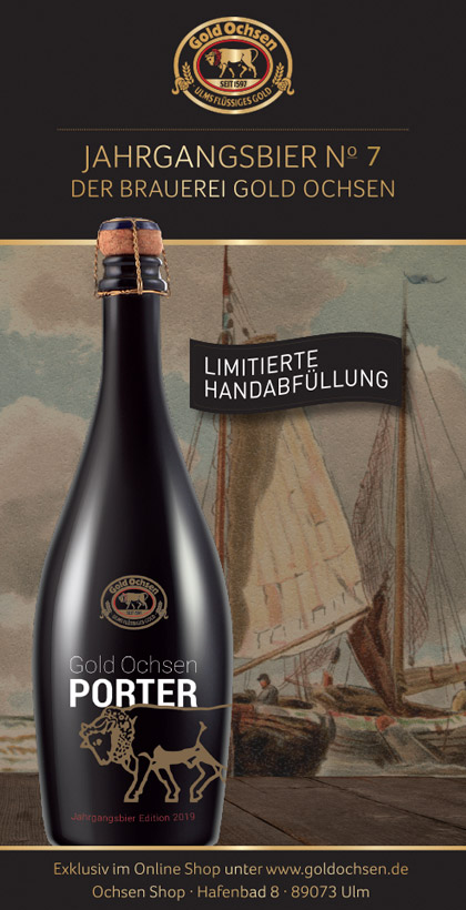 Gold Ochsen Porter Flyer 2019