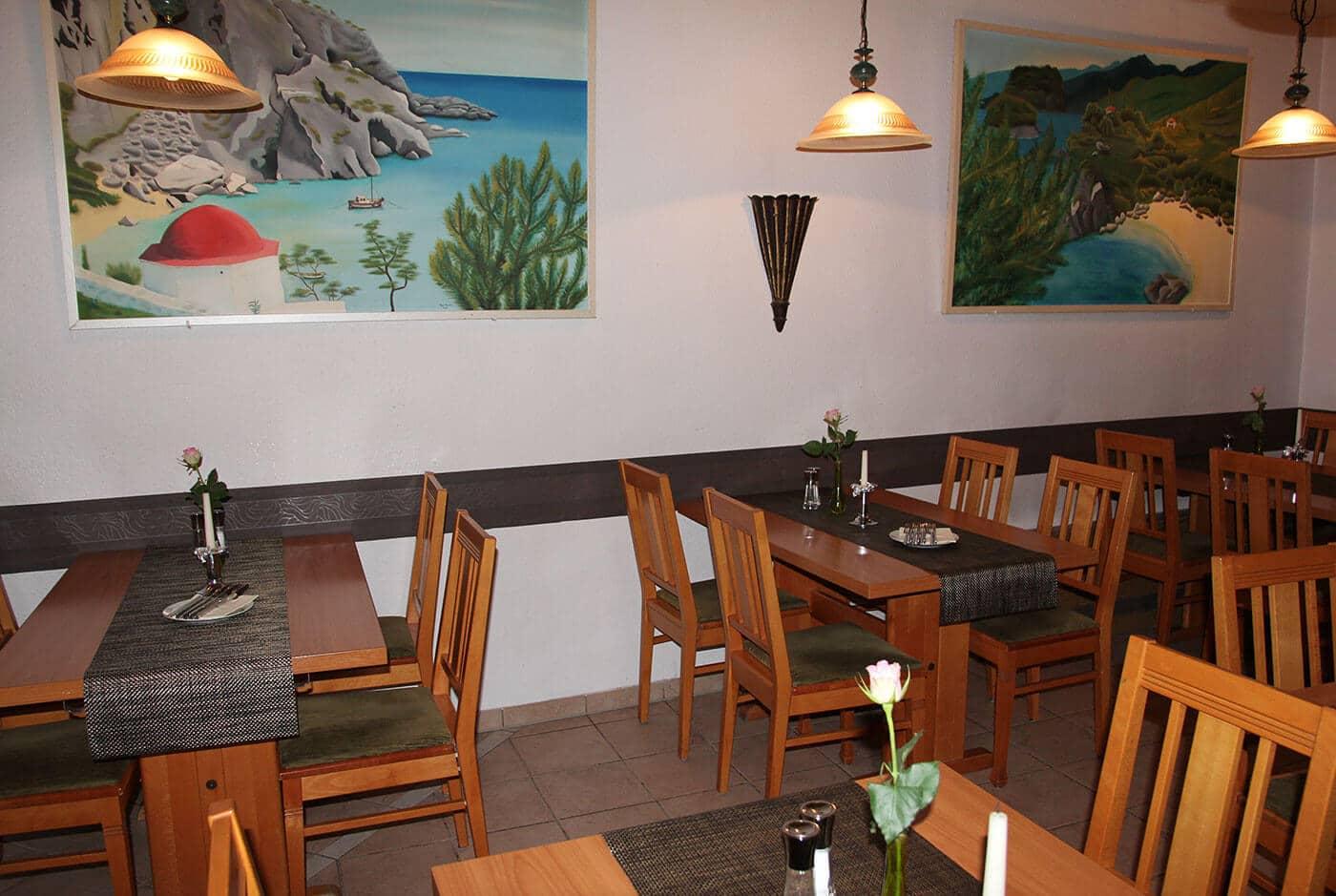 Das Restaurant Thessaloniki