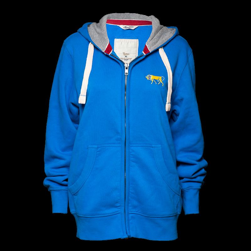 sweatshirtjacke-blau