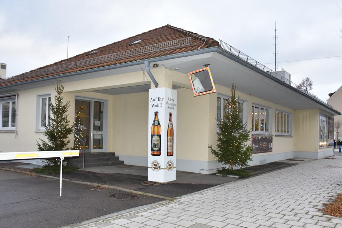 Gold Ochsen Weihnachtszauber Shop von außen