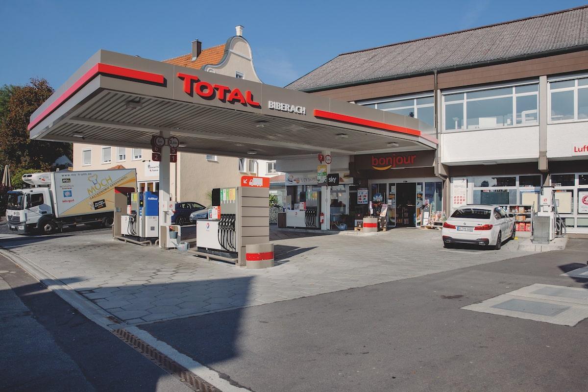 Total Tankstelle Biberach