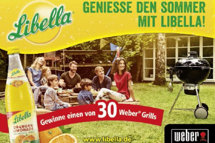 Große Weber Grill-Verlosung von Libella mit Ulmer Getränke Vertrieb